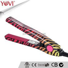 Professional portable flat iron mini hair straightener for CE & ETL certification