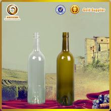 750 ml botellas decorativas / verde botella de vino