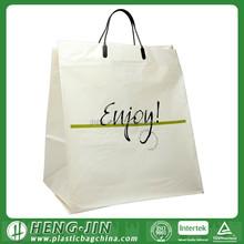 promotion sales soft loop handle bag/plastic shopping bag/plastic bag machine printing bag for promotion