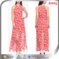 red colored kaftan dress floral printed indian kaftan new design long stylish maxi dresses