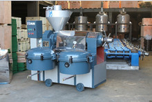 RF128-A SCREW OIL PRESS WITH HEAT & AIR COMPRESSOR