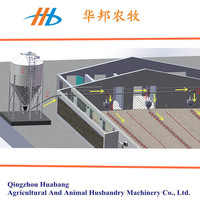 2015 china supplier automatic pan feeding system fo broiler and breeder chicken