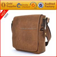 Unique design fashion mens mini leatehr laotop case11.5 inch laptop bag
