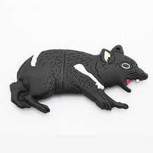 Fierce wolf usb flash drive,bulk 128mb usb flash drives