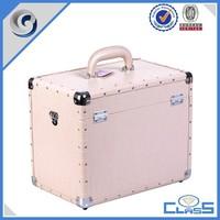 MLD-574 PU surface aluminium frame beauty case