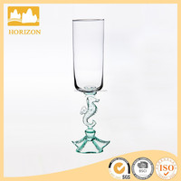 8.5oz champagne glass with sea horse stem for wedding