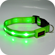 Promotional Pet Products LED Flashing Custom Dog Collars