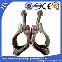 Formwork scaffolding accessories swivel fixed Japan clamp
