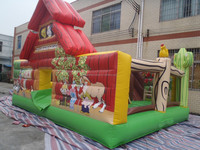 cute funy jumping inflatable house bouncer for kids