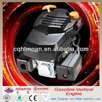 6.5hp 4 Stroke Air Cooled Vertical Gasoline Engine