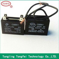 2015 top sale high quality cbb61 feed through capacitor