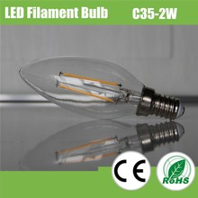 New Year, Christmas decoration high quality C35 LED filament flame lamp