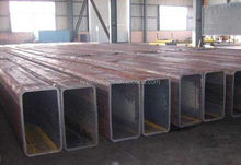 high quality rectangular steel pipe/tube for building materials