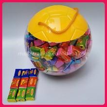 3g Tattoo Bubble Gum in Football Jar