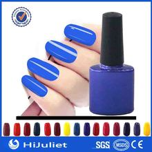 Customized msds certified 12 color diamond bottle life nail products