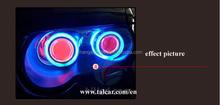 evil eye light Hyundai Elantra LED DRL New Elantra LED DRL 2014-2015 LED Daytime Running Light Good Quality LED Fog lamp