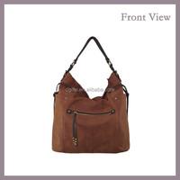 Nubuck PU Leather Shoulder Bag for Women