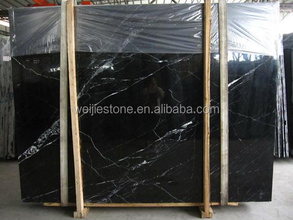 Noir et nero marquina marbre plaque bon prix chinois pas for Carrelage 80x80 noir