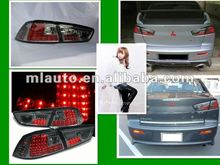2013 China Clear out stock! Car led rear tail light for Mitsubishi Lancer