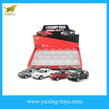 1:32 Die-cast model car pull back toy with sound and light,opened door car for children YX001176