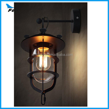 Vintage Countryside Edision LED Wall Lamp Boat Wall Light
