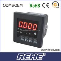 intelligent digital panel ampere data logger electric meter auto amelectric meter RH-DA31 LED