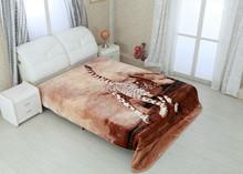 animal printed mink blanket blanket with zipper flame retardant blanket