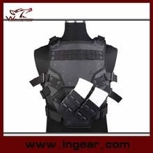 Airsoft Molle Transformer TF 3 NEST Body Armor Vest With 2 FastMag pouches