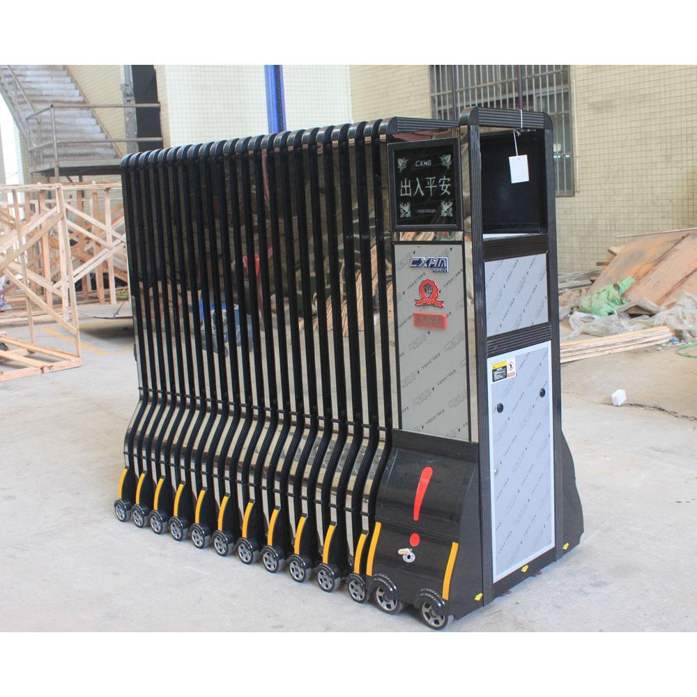 Industrial Retractable Gates : Aluminum alloy industrial electric retractable gate buy