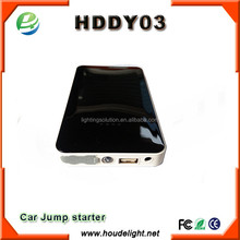 car jump starter power bank, support 12V gasoline vehicle & diesel vehicle jump start
