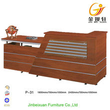 China supplier provide top quality wood reception desk
