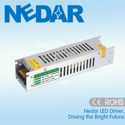 ND-100-24 LED Switching Power Supply 100W 4A 24V Long Strip Shape IP20 Power Supply