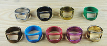 colorful ring style personalized custom logo bottle opener