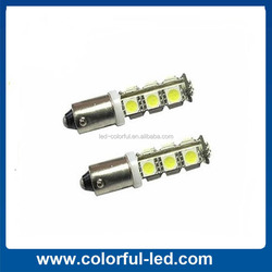 BA9S T4W 13pcs 5050 led vehicle interior lights