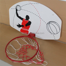 Mini Basketball Backboard For Kids With Metal Hoop