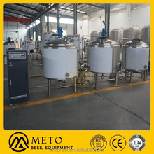 Flat movable home brewing system 50l beer brewing equipment