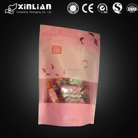 snack food packaging bags/stand up pouch/customized print plastic zipper bag
