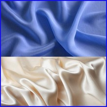 silk crepe satin plain fabric for sleepwear