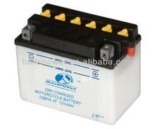 dry 12v 4ah motorcycle lead acid batteries,12 volt yt4l-bs motorcycle battery