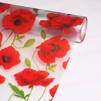 PVC decorative / fashionable glass film for window