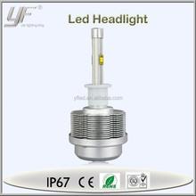 h3 12v led auto car led c ree headlights, headlamp led