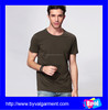 Custom plain t-shirts 100% cotton O neck t-shirts for man on promotional