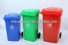 OEM Injection molding plastic wheelie bins for waste