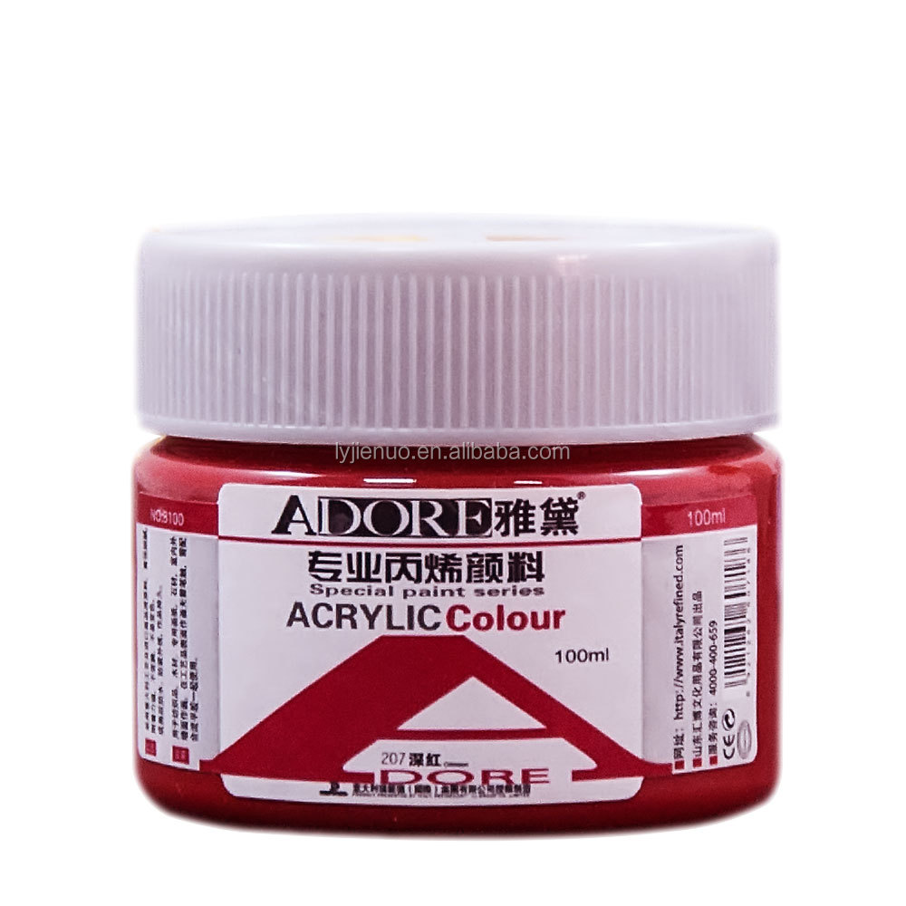 Adore 100ml Acrylic Paint For Artist Kids Adults With Cheap Price And Best Quality View Acrylic