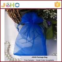 Factory Supplier Popular Design Cheap Custom Hot Sale Organza Bag with Drawstring for Packing