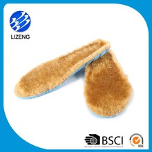 Warm ski boot antibacterial hi-poly comfort insoles work boot shoe inserts