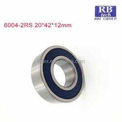 Best China manufacturer High Precision Deep groove ball bearing drill press 6004RS 6005ZZ