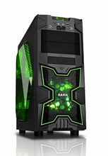 ATX gaming case with USB3.0 and HDD Cooling box