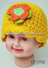 best seller handmade crochet flower hats
