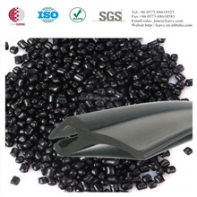 100% virgin black pvc compounds for sealing strip/weather bar